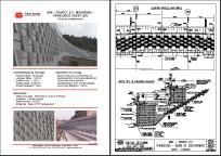 Mur de souténement terraclass