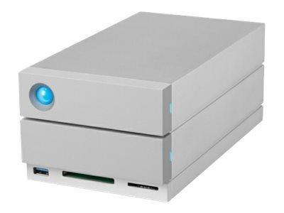LACIE 2BIG DOCK THUNDERBOLT 3 - BAIE DE DISQUES - 16 TO - 2 BAIES (SATA-600) - HDD 8 TO X 2 - USB 3.1, THUNDERBOLT 3 (EXTERNE)