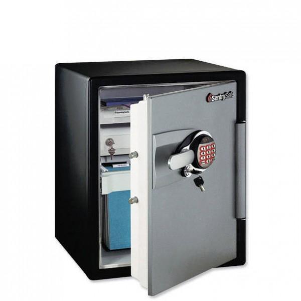 armoires fortes eau et ignifuge 56 6 litres sentry. Black Bedroom Furniture Sets. Home Design Ideas