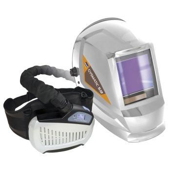 MASQUE DE SOUDURE LCD AVEC PROTECTION RESPIRATOIRE GYSMATIC 5/13 AI...