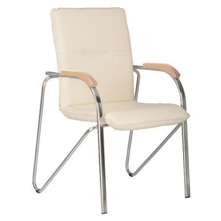 Siège visiteur, chaise de conférence samba blanche