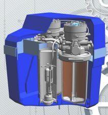 Adoucisseur d'eau - ecobiosys sans électricité duplex