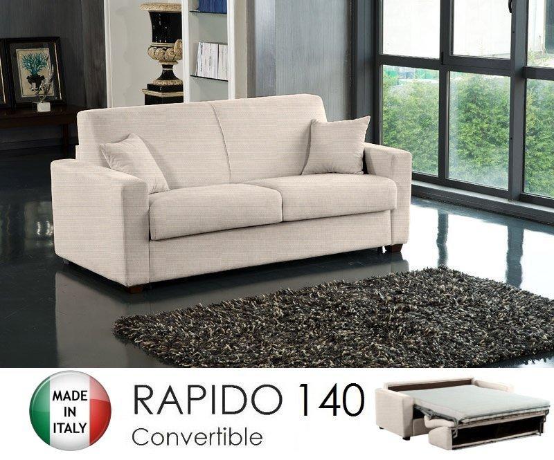 Canape ouverture rapido 3 places dreamer convertible lit 140*190*14 ...