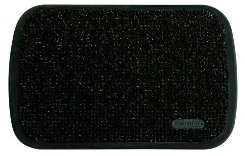 Tapis d 39 entr e noir 50x75cm tapis ext rieur comparer les for Tapis d entree exterieur