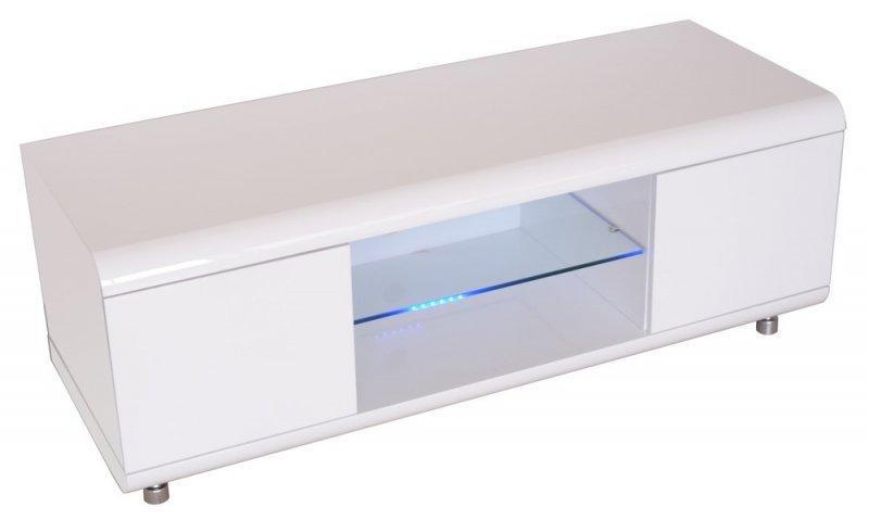 Meuble Tv Design Laque Blanc
