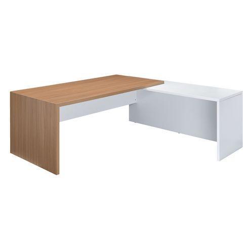 bureau essenzza avec retour comparer les prix de bureau essenzza avec retour sur. Black Bedroom Furniture Sets. Home Design Ideas