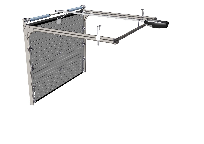 Portes de garage sectionnelles portillon sur mesure Porte de garage eveno