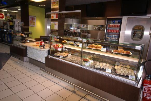 Vitrine refrigeree boulangerie de presentation esprit for Materiel resto rapide