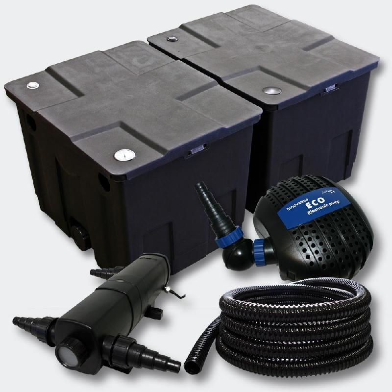 Kit de filtration de bassin bio filtre 60000l pompe éco uvc 36 watts 4216507