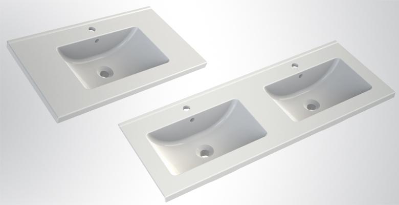 Lavabo Et Vasque Plan De Toilette En Céramique Joy