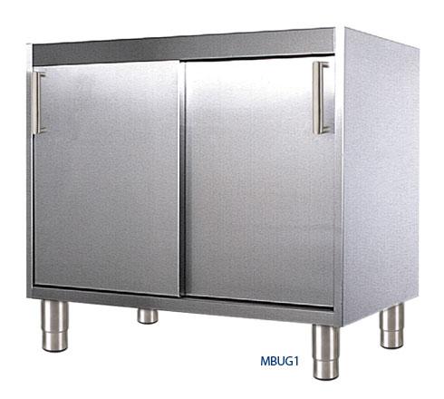 Placard bas de cuisine tous les fournisseurs caisson for Meuble bas cuisine porte coulissante