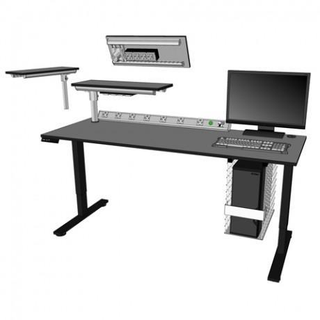 Table informatique réglable électriquement