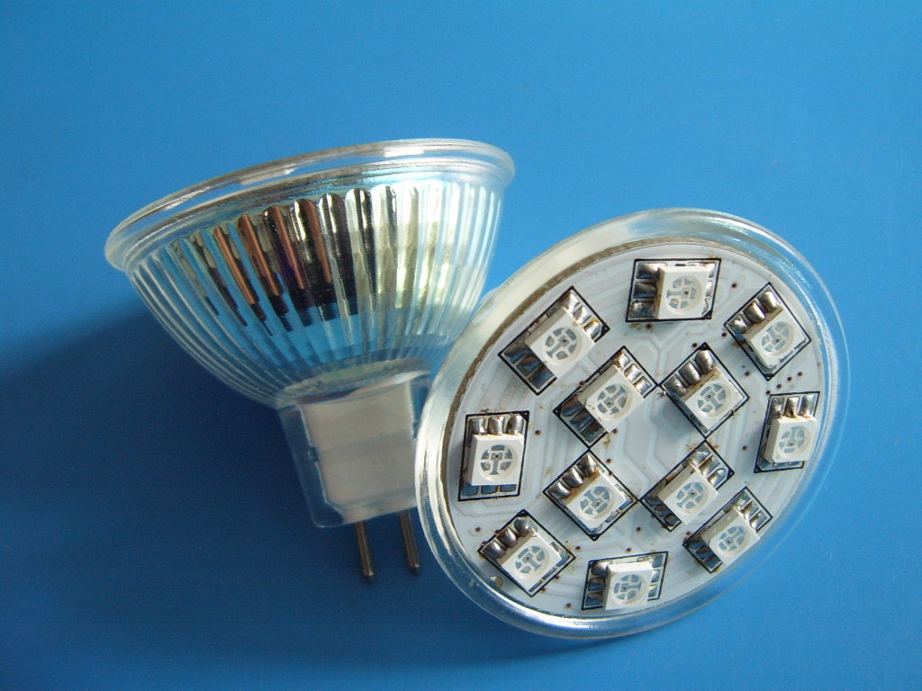 ampoules led mr16 ou gu10 rvb auto. Black Bedroom Furniture Sets. Home Design Ideas