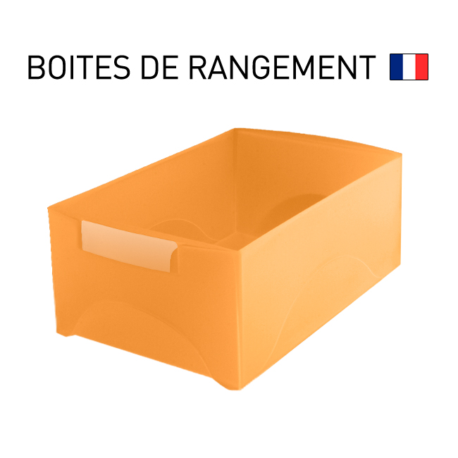 box rangement boite de rangement double hauteur avec poignee integree starbox with box. Black Bedroom Furniture Sets. Home Design Ideas