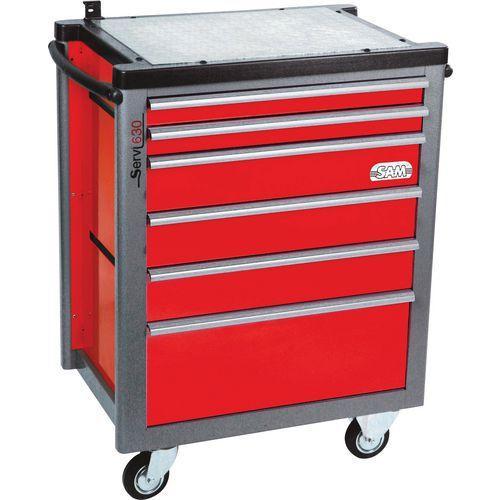 servante 6 tiroirs servisam comparer les prix de servante 6 tiroirs servisam sur. Black Bedroom Furniture Sets. Home Design Ideas