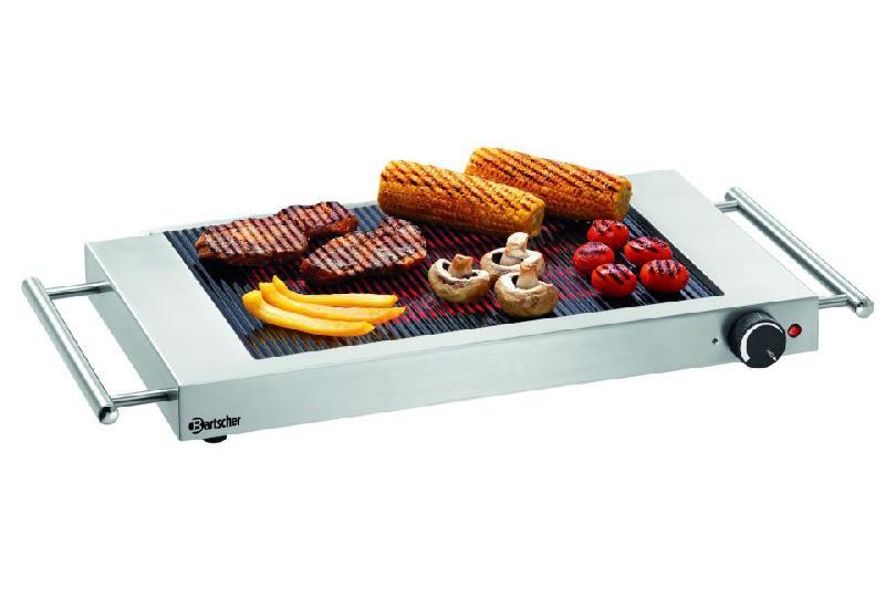 table de cuisson en c ramique rainur e professionnelle gp1200 bartscher comparer les prix de. Black Bedroom Furniture Sets. Home Design Ideas
