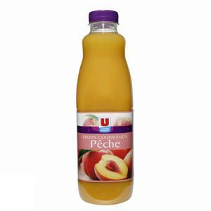 U nectar fruits gourmands à la pêche pet 1 litre