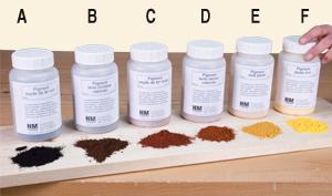 e pigment ocre jaune 250 g - Colorants Universels Pour Peinture