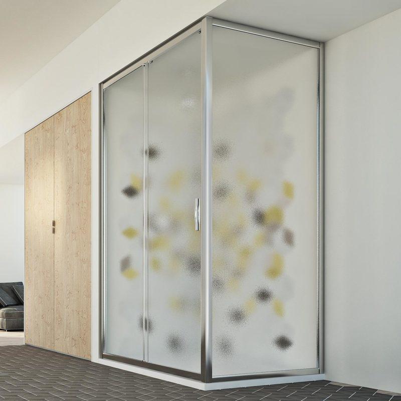 cabine douche 70x100 cm h198 mod young duo 1 porte opaque. Black Bedroom Furniture Sets. Home Design Ideas