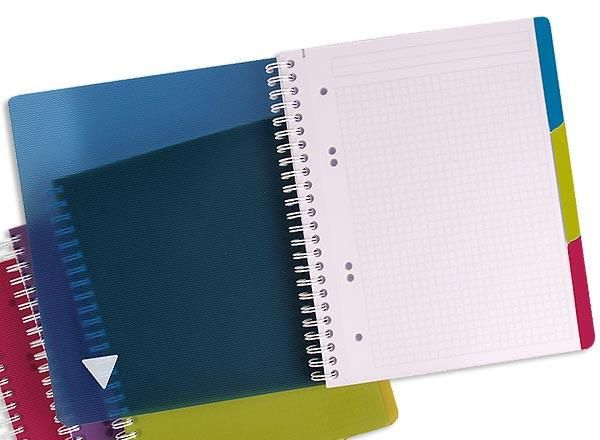 cahier spirale clairefontaine a4