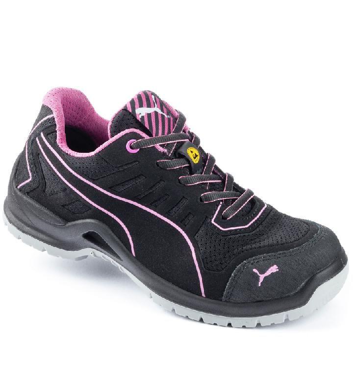 chaussures de s curit femme s1p esd puma technics basses. Black Bedroom Furniture Sets. Home Design Ideas