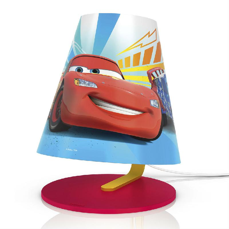 Disney lampe de chevet led cars h24cm luminaire for Lampe de chevet tactile enfant