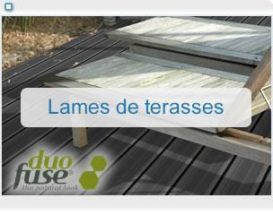 Lames de terrasses en bois composite duofuse - Prix des lames de terrasse en composite ...