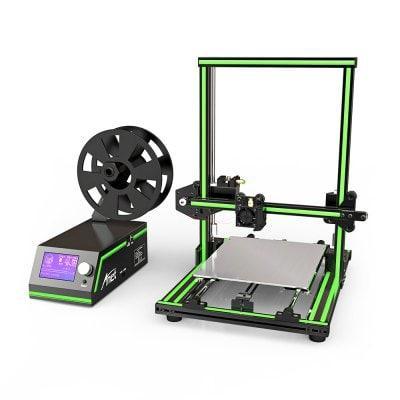 ANET E10 ENSEMBLE DIY DE IMPRIMANTE 3D AVEC CADRE EN ALUMINIUM ET MULTI-LANGUE  -  UE  VERT 218236802