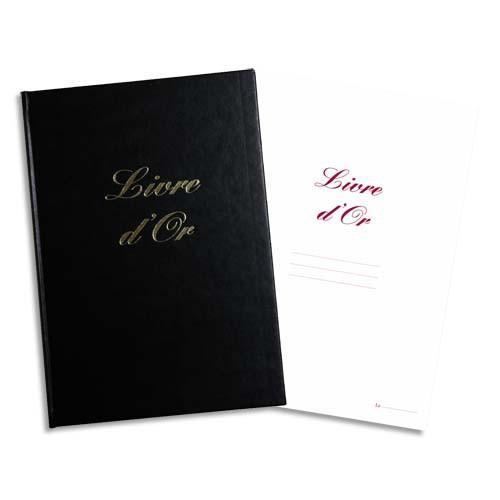 elve livre d or format 210x160mm noir 148 pages couverture aspect cuir comparer les prix de. Black Bedroom Furniture Sets. Home Design Ideas