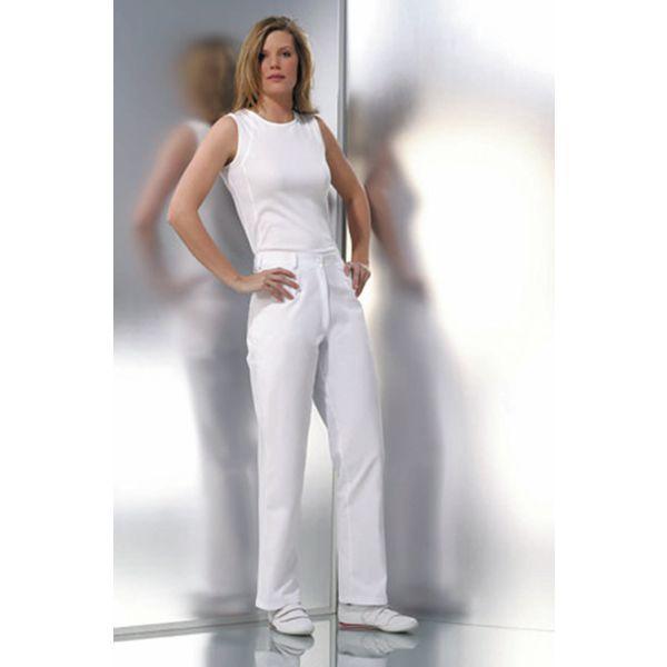pantalon blanc femme taille 42. Black Bedroom Furniture Sets. Home Design Ideas