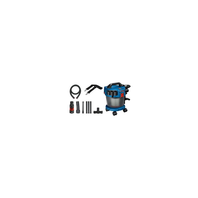ASPIRATEUR SANS FIL GAS 18 V - 10 L PROFESSIONAL (MACHINE SEULE) AVEC ACCESSOIRES - BOSCH - 06019C6302