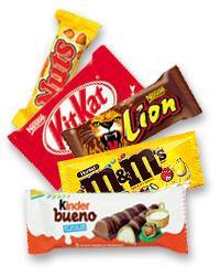 Barres chocolatees