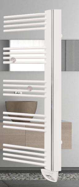 seche serviettes electrique asymetrique baltis. Black Bedroom Furniture Sets. Home Design Ideas