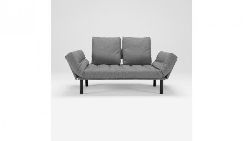 innovation living canape design rollo gris convertible lit. Black Bedroom Furniture Sets. Home Design Ideas