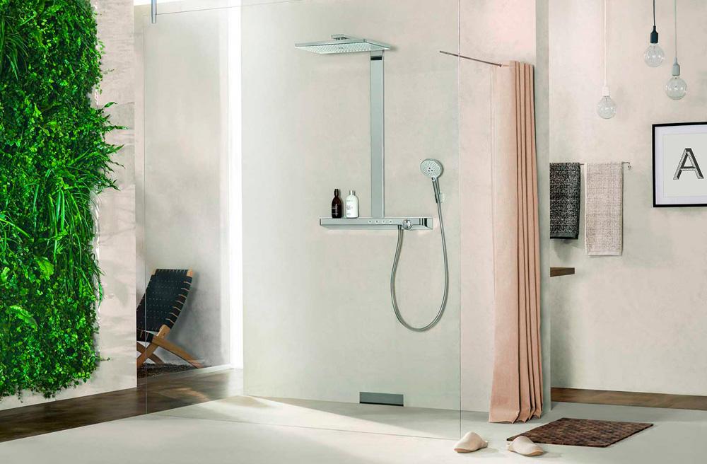 colonne de douche multi jets showerpipe rainmaker select 460 3jet. Black Bedroom Furniture Sets. Home Design Ideas