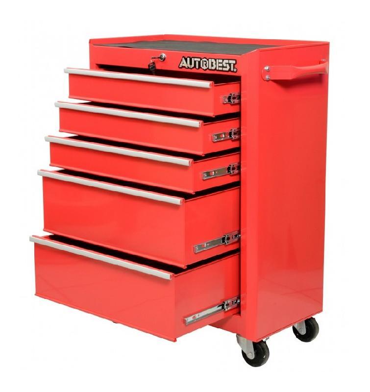servante atelier roulettes acie 5 tiroirs autobest comparer les prix de servante atelier. Black Bedroom Furniture Sets. Home Design Ideas
