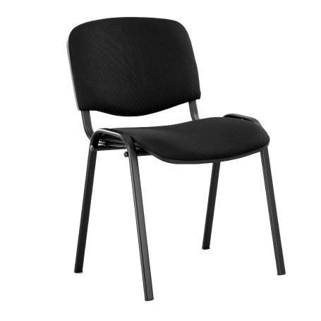 Siège visiteur, chaise de conférence iso black 003012c11