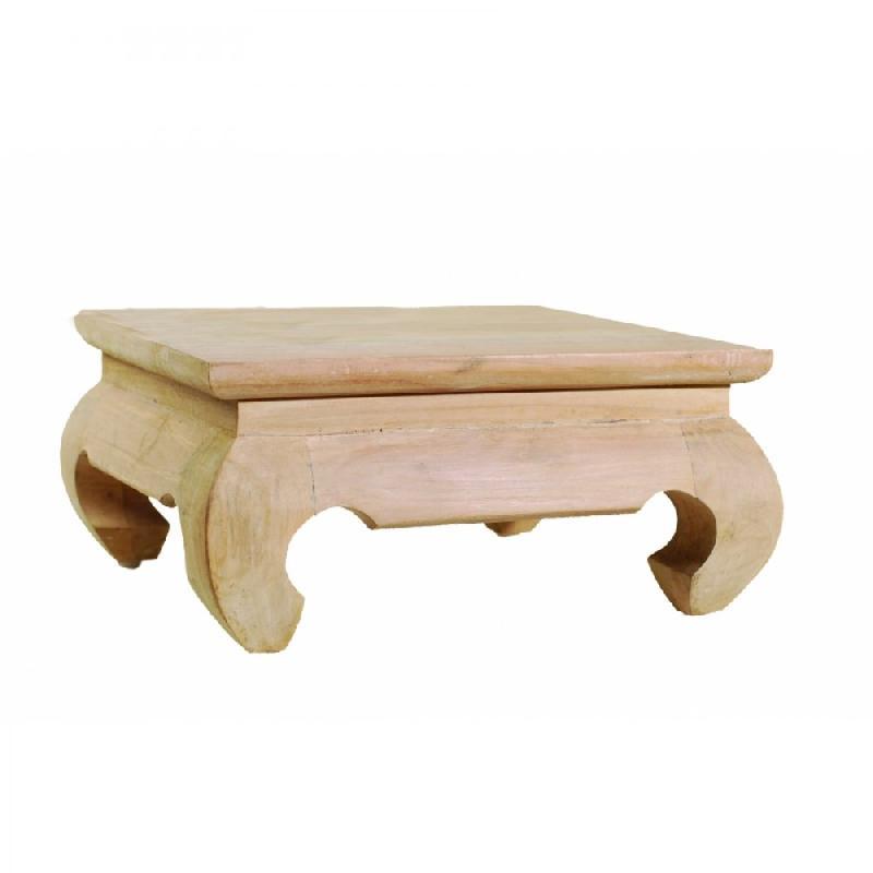 Api Design 30x30 Table En Blanchi Basse Cm Teck WrdCxBoe