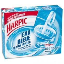 HARPIC BLOCS CUVETTE EAU BLEU ANTI-TARTRE
