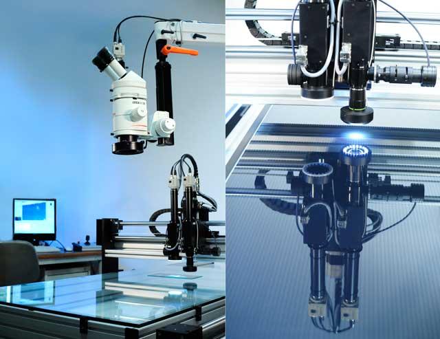 Controle qualite par microscopie des modules photovoltaïques