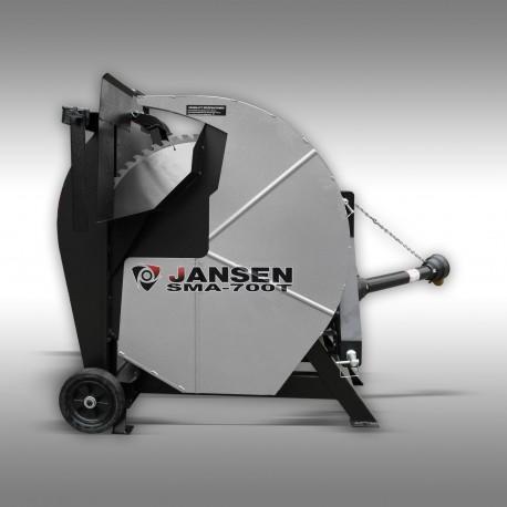 Scie a chevalet sma-700t 700mm prise de force jansen - j1055004