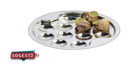 assiette escargots inox comparer les prix de assiette escargots inox sur. Black Bedroom Furniture Sets. Home Design Ideas