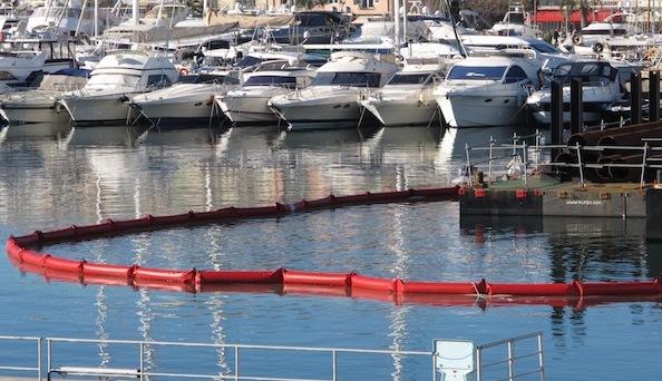 Barrages  filtrant antipollution