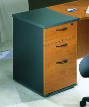 caisson hauteur de bureau profondeur 80 cm aulne jazz comparer les prix de caisson hauteur de. Black Bedroom Furniture Sets. Home Design Ideas