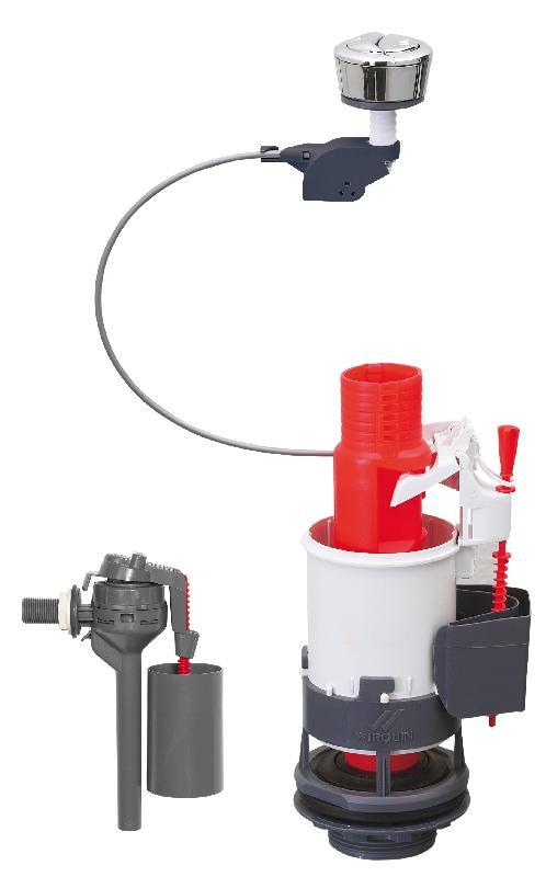 Accessoires pour toilettes b achat vente de accessoires pour toilettes b comparez les - Reglage chasse d eau double commande ...