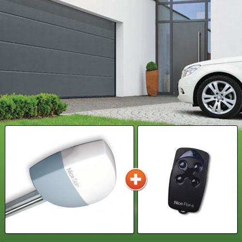 motorisation porte de garage nice spinkit 10kce comparer les prix de motorisation porte de. Black Bedroom Furniture Sets. Home Design Ideas