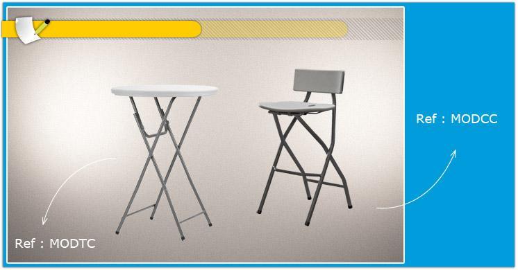 Table haute pliante comparer les prix de table haute - Table haute bar pliante ...