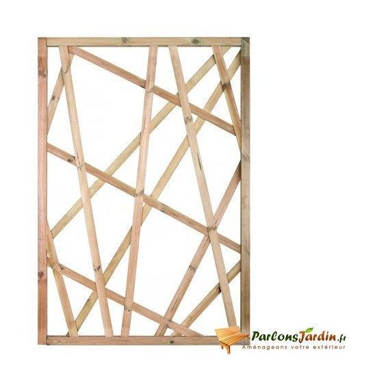 Cl ture en bois comparez les prix pour professionnels - Treillage bois jardin ...