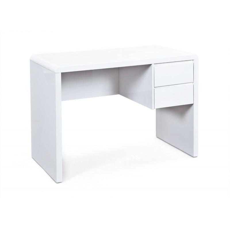 Bureau Design Canio 110cm Blanc Paris Prix