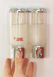 Distributeur de savon fiamma for Distributeur de savon ventouse